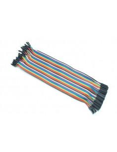 Jumper Wires ( F - M ) - 40 Pin