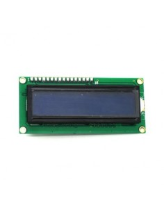 UART Serial 16x2 Characters LCD LCM Display Module Kit With Yellow / Blue Black Light For Arduino 5V