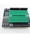 Arduino Proto Shield with Mini Breadboard