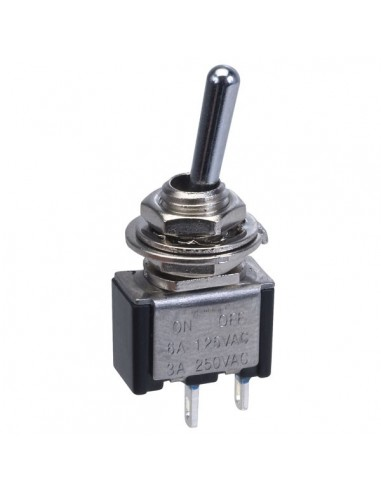 Small Toggle Switch 3A 250v