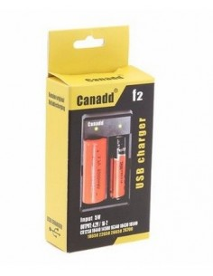 USB Canadd F2 Lithium Battery Charger (USB) - Twin Cell