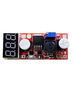 DC-DC Adjustable Steady Voltage Module with Voltmeter Display