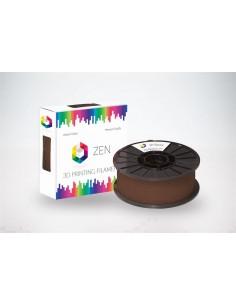 ZEN 3D Filament PLA Brown 1.75mm - 1kg Spool