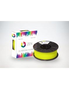 ZEN 3D Filament PLA Fluorescence Yellow 1.75mm - 1kg Spool
