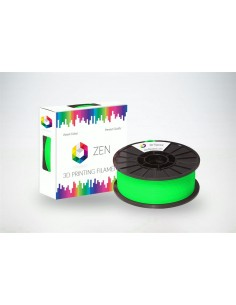 ZEN 3D Filament PLA Flurescence Green 1.75mm - 1kg Spool