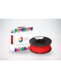 ZEN 3D Filament PLA Transparent Red 1.75mm - 1kg Spool