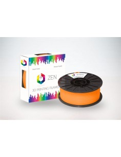 ZEN 3D Filament PLA Trans Orange 1.75mm Transparent Orange - 1kg Spool
