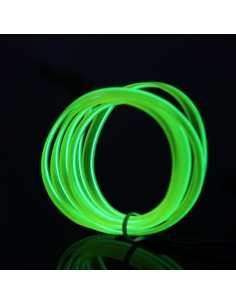 Forest Green EL Wire (3 meters)