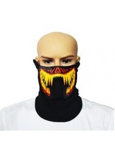 EL Mask - Yellow Red Monster Teeth