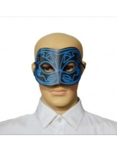 EL Mask - Blue Black Eye Mask