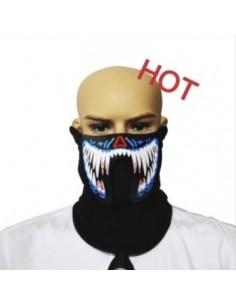 EL Mask - Monster blue white teeth