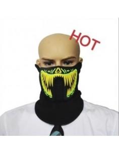 EL Mask - Green Yellow teeth