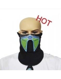 EL Mask - Green and Blue
