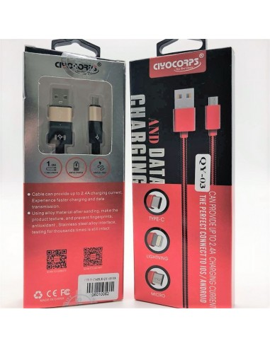 Micro USB Data and Charging Cable (1 Meter)