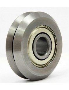 V-Slot Metal Shielded Roller Guide Bearing