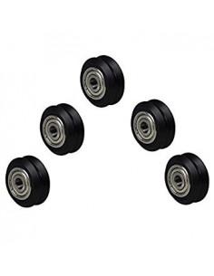 V-Slot Nylon V-Guide Roller (inner) Delrin Bearing