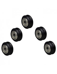 V-Slot Nylon V-Guide Roller (Inner V) Delrin Bearing