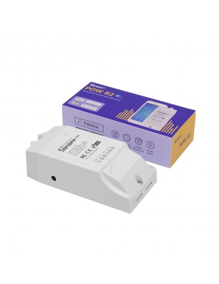 Sonoff Pow R2 - Wifi Swith for Energy Usage Power Monitoring