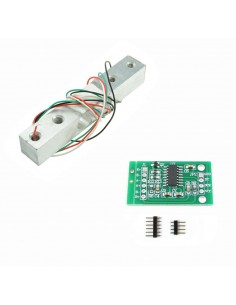 1KG - Load Cell Amplifier, Weight Sensor Kit, HX711