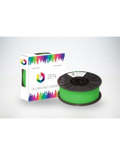 ZEN PETG Transparent Green 1.75mm - 1kg Spool