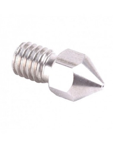 Nozzle 0.4mm MK8 Stainless steel M6 for 1.75mm filament