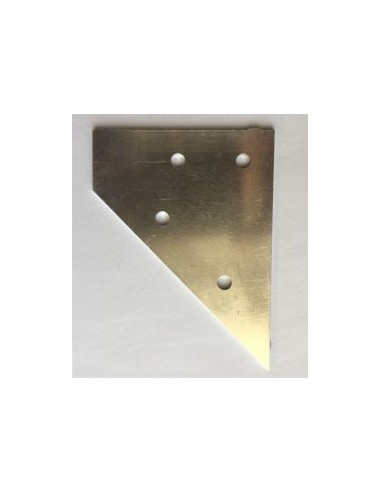 Aluminum plates for connecting 20x20 & 20x40 profiles