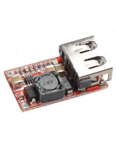USB Step-down 12/24V to 5V 3A MP2315 Mini DC Power Module