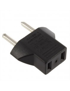 Plug Socket adapter 2 pin US to EU