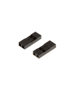 2 Way DuPont Female Connector (pack of 10)
