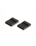 4 way DuPont Female Connector (pack of 10)