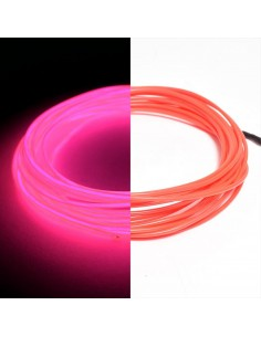 Hot Pink EL Wire (3 meters) & Inverter