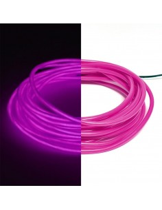 Purple EL Wire (3 meters)