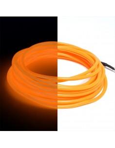Orange EL Wire (3 meters)