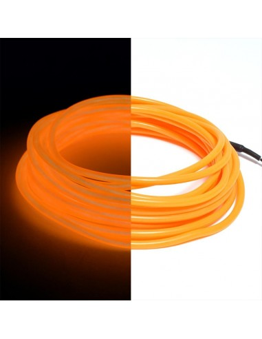 Orange EL Wire (3 meters)