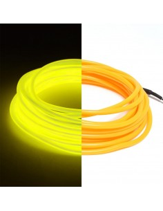 Yellow EL Wire (3 meters) & Inverter