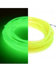 Lime Green EL Wire (3 meters) & Inverter