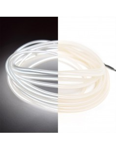 White EL Wire (3 meters) & Inverter