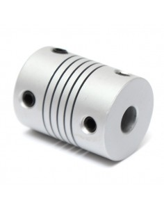Flex Coupling 6.35mm - 6mm