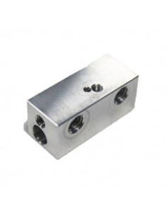 Dual Colour Aluminium Heater Block