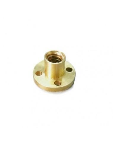 Lead Screw Brass NutTR8x4 Trapezoidal