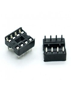 8 Pin IC Socket Holder DIP - 3 Pack