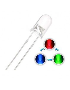 LED 5mm RGB Flashing (5 Pack)