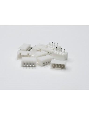 XH2.54 4P Male 10 pack Connectors