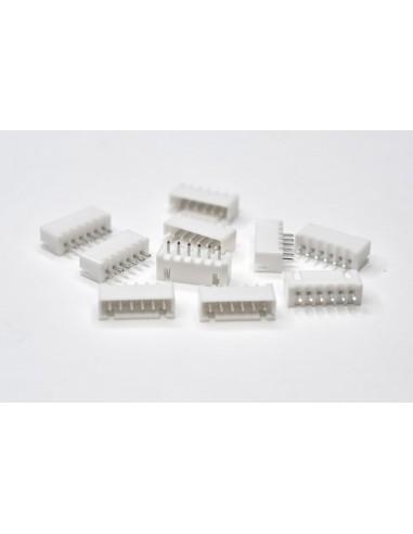 XH2.54 6P Male 10 pack connectors
