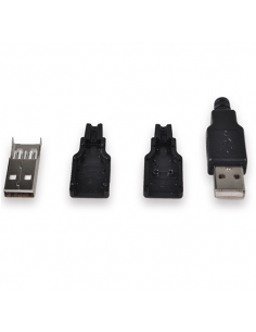 USB Male Connector Kit (2...