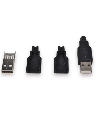 USB Male Connector Kit (2 pack)