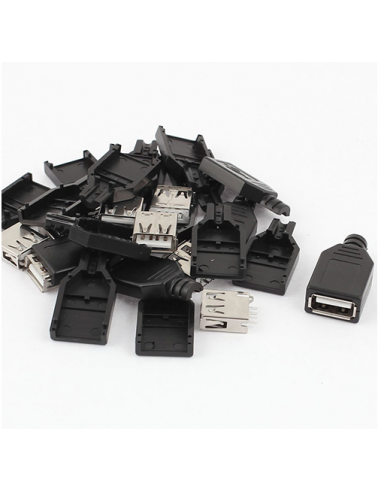 USB Female Connector Kit (2 Pack)