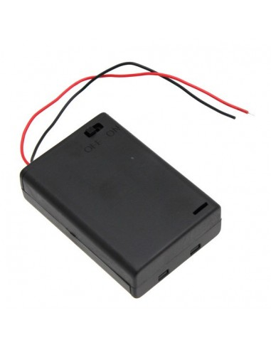 3xAA Battery Holder with Switch