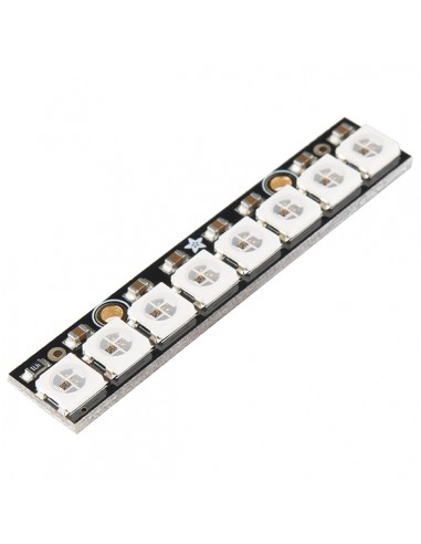 WS2812 Neopixels 8-LED Stick Board