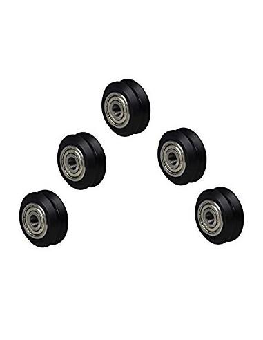 V-Slot Nylon V-Guide Roller (Inner V)...